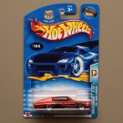 Hot Wheels 2003 Wastelanders '67 Dodge Charger (dark orange)