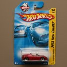 Hot Wheels 2008 First Editions Tesla Roadster (red)