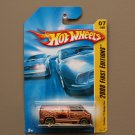 Hot Wheels 2008 First Editions Custom '77 Dodge Van (copper)