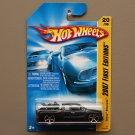 Hot Wheels 2007 First Editions Chevy Silverado (black)