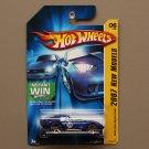 Hot Wheels 2007 New Models Shelby Cobra Daytona Coupe (blue)
