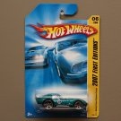 Hot Wheels 2007 First Editions Shelby Cobra Daytona Coupe (teal)