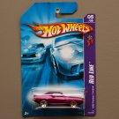 Hot Wheels 2006 Red Line '69 Pontiac Firebird (pink)