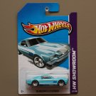 Hot Wheels 2013 HW Showroom '65 Mustang 2+2 Fastback (turquoise)
