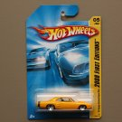 Hot Wheels 2008 First Editions '69 Dodge Coronet Super Bee (yellow)