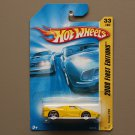 Hot Wheels 2008 First Editions Ferrari FXX (yellow)