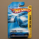 Hot Wheels 2007 New Models Chevy Silverado (blue)