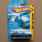Hot Wheels 2007 First Editions Chevy Silverado (blue)