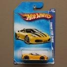 Hot Wheels 2009 Dream Garage Ferrari F430 Spider (yellow)