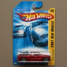 Hot Wheels 2007 New Models Chevy Silverado (burgundy)