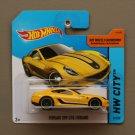 Hot Wheels 2015 HW City Ferrari 599 GTB Fiorano (yellow)