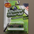 Greenlight Motor World Series 12 American Ed. '99 Pontiac Firebird (Green Machine) (SEE CONDITION)