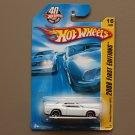 Hot Wheels 2008 First Editions Dodge Challenger SRT8 (white)