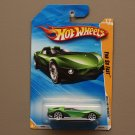 Hot Wheels 2010 HW Premiere Yur So Fast (green) (SEE CONDITION)