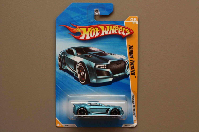 Hot Wheels 2010 HW Premiere Torque Twister (blue)