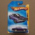 Hot Wheels 2009 HW Premiere '71 Dodge Demon (purple)