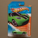 Hot Wheels 2011 Track Stars Tesla Roadster (green) (see condition)