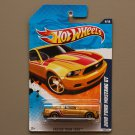 Hot Wheels 2011 Faster Than Ever 2010 Ford Mustang GT (gold)
