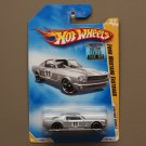 Hot Wheels 2008 New Models '65 Ford Mustang Fastback (silver)