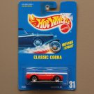 Hot Wheels 1992 Collector Series Classic Cobra (red) (SEE CONDITION)