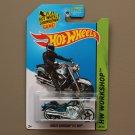 Hot Wheels 2014 HW Workshop Harley-Davidson Fat Boy (Super Treasure Hunt) (SEE CONDITION)