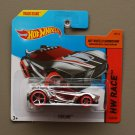 Hot Wheels 2015 HW Race Chicane (chrome) (Treasure Hunt)