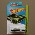 Hot Wheels 2015 HW Workshop '70 Plymouth AAR Cuda (green)