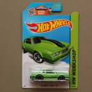 Hot Wheels 2015 HW Workshop '86 Monte Carlo SS (green - Kmart Excl.)