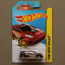 Hot Wheels 2015 HW Off-Road '12 Ford Fiesta (burgundy)