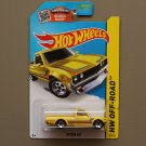 Hot Wheels 2015 HW Off-Road Datsun 620 (yellow - Kmart Excl.) (SEE CONDITION)