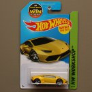 Hot Wheels 2015 HW Workshop Lamborghini Huracan LP 610-4 (yellow)