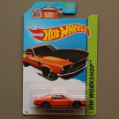 Hot Wheels 2015 HW Workshop '69 Ford Mustang Boss 302 (orange)