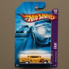 Hot Wheels 2007 Taxi Series '55 Chevy Bel Air (yellow)