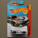 Hot Wheels 2015 HW Race SRT Viper GTS-R (silver) (SEE CONDITION)