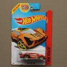 Hot Wheels 2014 HW Race Super Blitzen (orange)