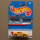 Hot Wheels 1998 First Editions Pikes Peak Toyota Celica (yellow)