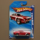 Hot Wheels 2010 Nightburnerz '67 Custom Mustang (red)
