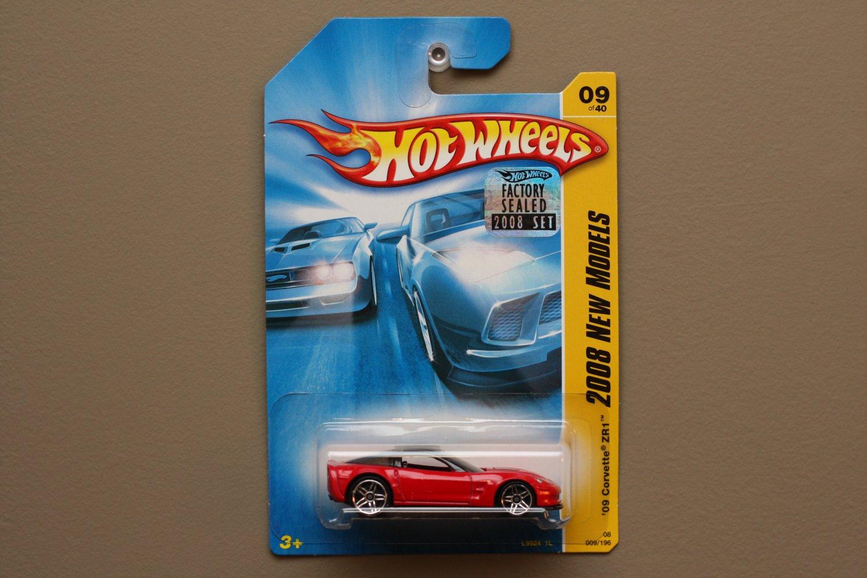 Hot Wheels 2008 New Models '09 Corvette ZR1 (red)