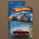 Hot Wheels 2005 First Editions (Realistix) '05 Ford Mustang GT (burgundy)