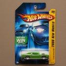 Hot Wheels 2006 New Models '70 Dodge Challenger HEMI (green - Kmart Excl.)