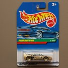 Hot Wheels 1998 Dash 4 Cash Series Ferrari F40 (gold)