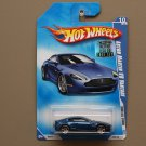 Hot Wheels 2008 HW All Stars Aston Martin V8 Vantage (blue)