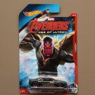Hot Wheels 2015 Avengers Age Of Ultron Muscle Tone (Vision) (#5/8)
