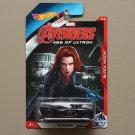 Hot Wheels 2015 Avengers Age Of Ultron 16 Angels (Black Widow) (#8/8)