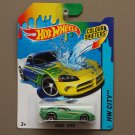 Hot Wheels 2014 Color Shifters Dodge Viper (teal to yellow)