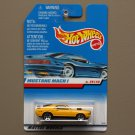 Hot Wheels 1998 First Editions '70 Mustang Mach 1 (yellow)