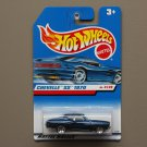 Hot Wheels 1999 First Editions '70 Chevelle SS (blue)