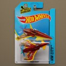 Hot Wheels 2014 HW City Poison Arrow (red/yellow) (Treasure Hunt)