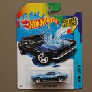 [PACKAGE ERROR] Hot Wheels 2014 Color Shifters '67 Camaro (dark green to blue)