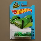 Hot Wheels 2014 HW City Cloak And Dagger (green) (Treasure Hunt) (SEE CONDITION)